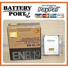 ORIGINAL NIKON BATTERY [EN-EL19] [ENEL19]